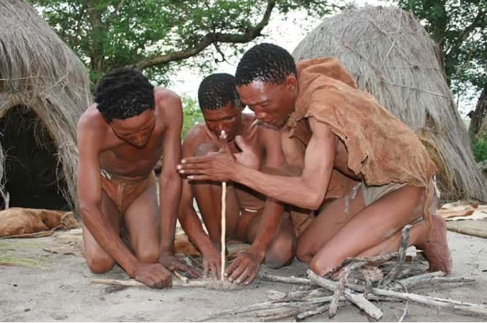 The San Bushmen