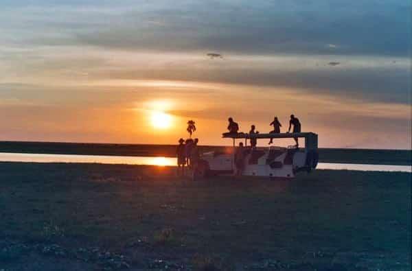 Sunset, Liuwa